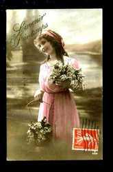 Гламур,  влюбленные красавицы 1914 год.