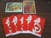 7 открыток С праздником Октября и Слава Октябрю
